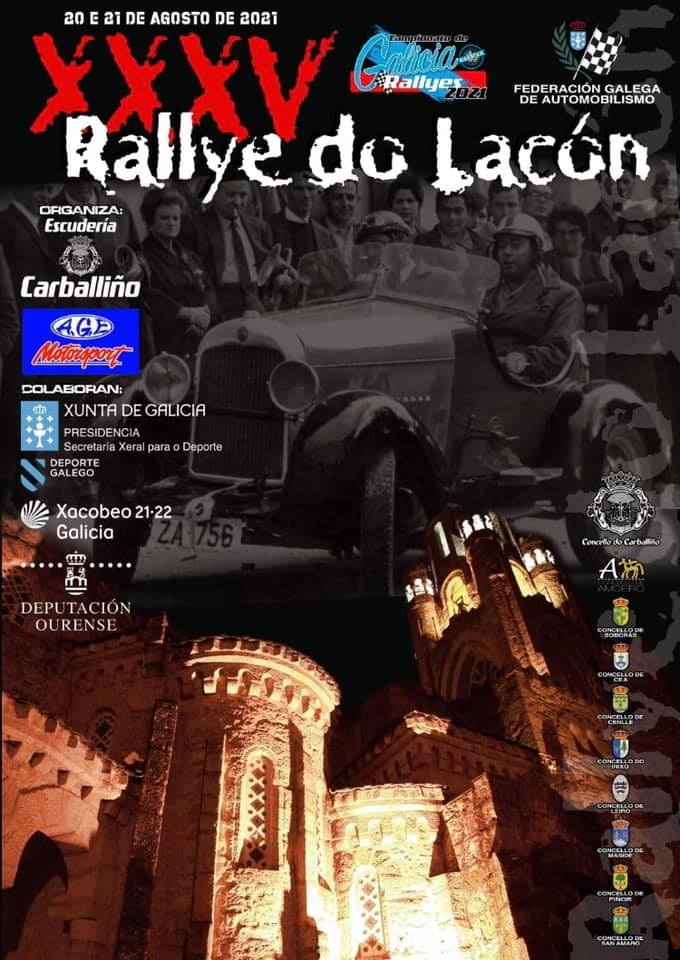 Cartel Rally do Lacon 2021