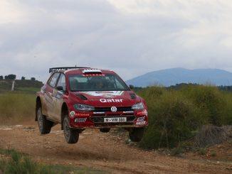 Al-Attiyah en el Rally Tierras Altas