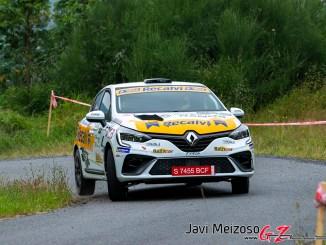 Cagiao en el Rally de Naron 2021