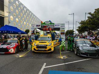 Triplete de Michelin en el Rally de Naron 2021