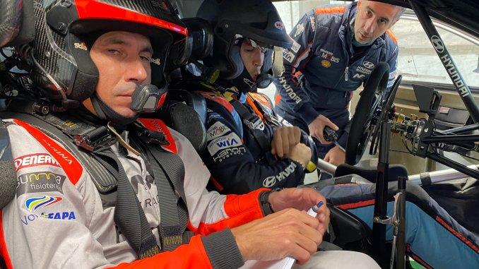Candido Carrera nuevo copiloto de Dani Sordo