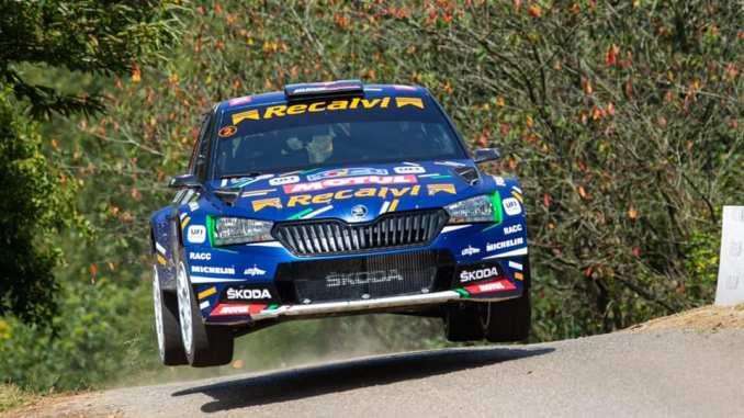 Jose Antonio Suarez en el Rally Princesa de Asturias 2021