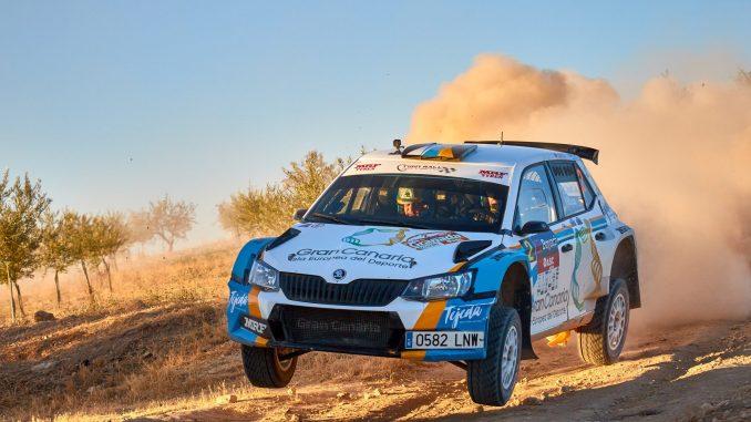 Quintana y Mujica vencen en el Rally de Granada