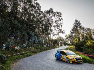 Oscar Palacio en el Rally Cristian Lopez