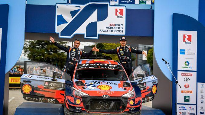 Dani Sordo en el WRC Acropolis 2021