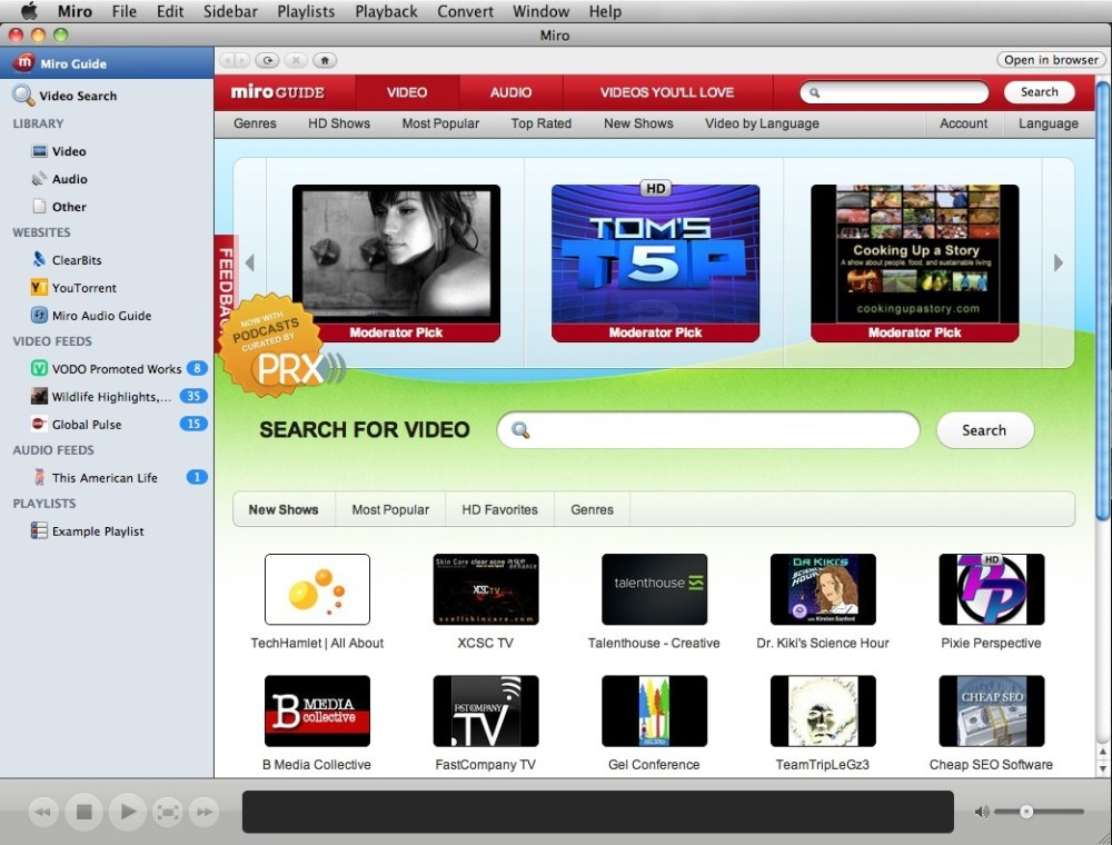 Software Livre de: WebTV, HTPC e Torrents (1/6)