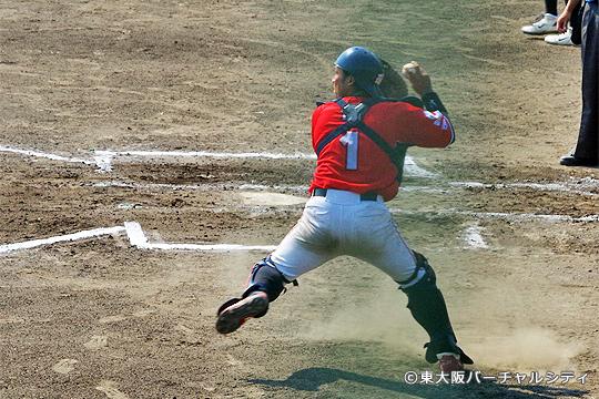 投手陣を支える田井捕手。ドラフト間近、ここからスパート!