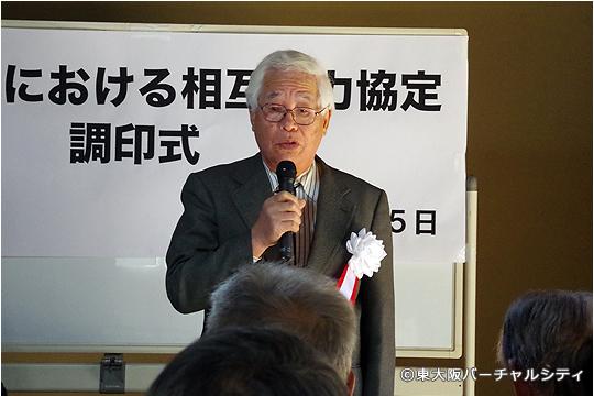 東大阪・鴻池ジャズ実行委員会 谷口晴男実行委員長のご挨拶