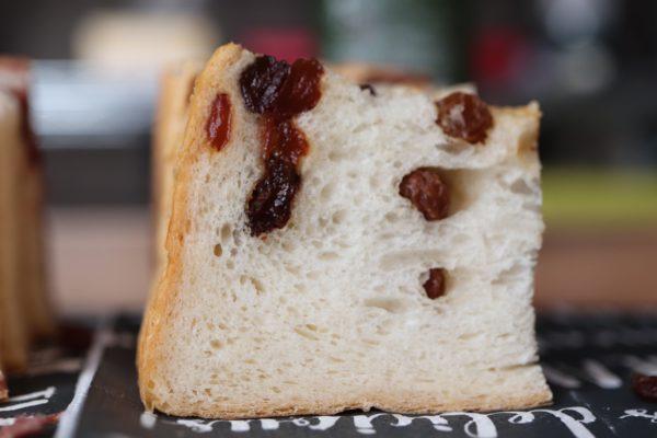 ルミトロンさんのレーズン食パン