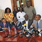 Vérification parrainages : L'opposition rejette les motifs avancés par le Conseil constitutionnel pour mettre hors course l'essentiel de leurs membres.