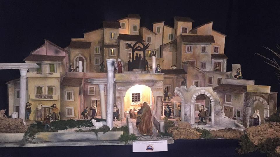 Inaugurata a Maenza la XVIII mostra dei presepi
