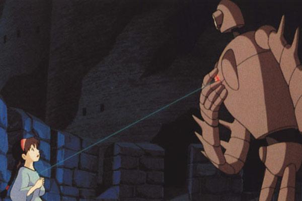 Le château dans le ciel, naissance d'un studio de géants. image studio Ghibli