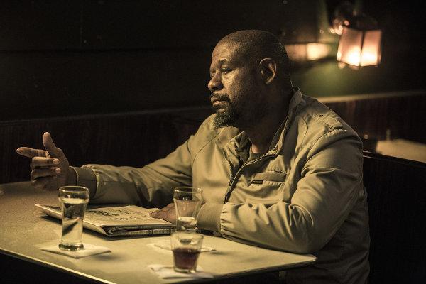 Belle utilisation d'une caractéristique physique: le personnage de Forest Whitaker est borgne. Et alcoolique, et fort, aussi. photo SND