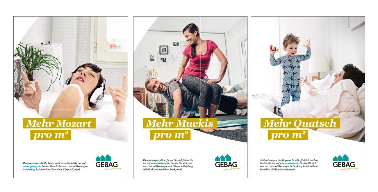 Imagekampagne Wohnungsbauunternehmen  Werbeagentur