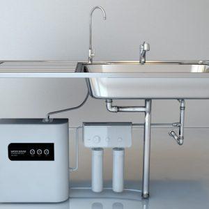 Премиальная система генерации и активации водородной воды