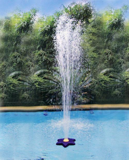 Fontaine fleur pour piscine hors sol ou enterres y compris les autoportantes  H2o Piscines