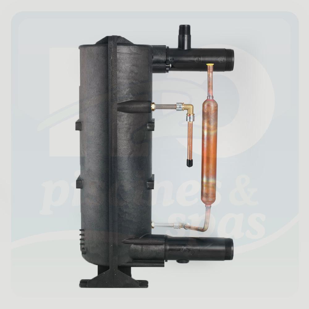 Condenseur des pompes  chaleur ZODIAC Edenpac 2 et 3 en titane  H2o Piscines  Spas