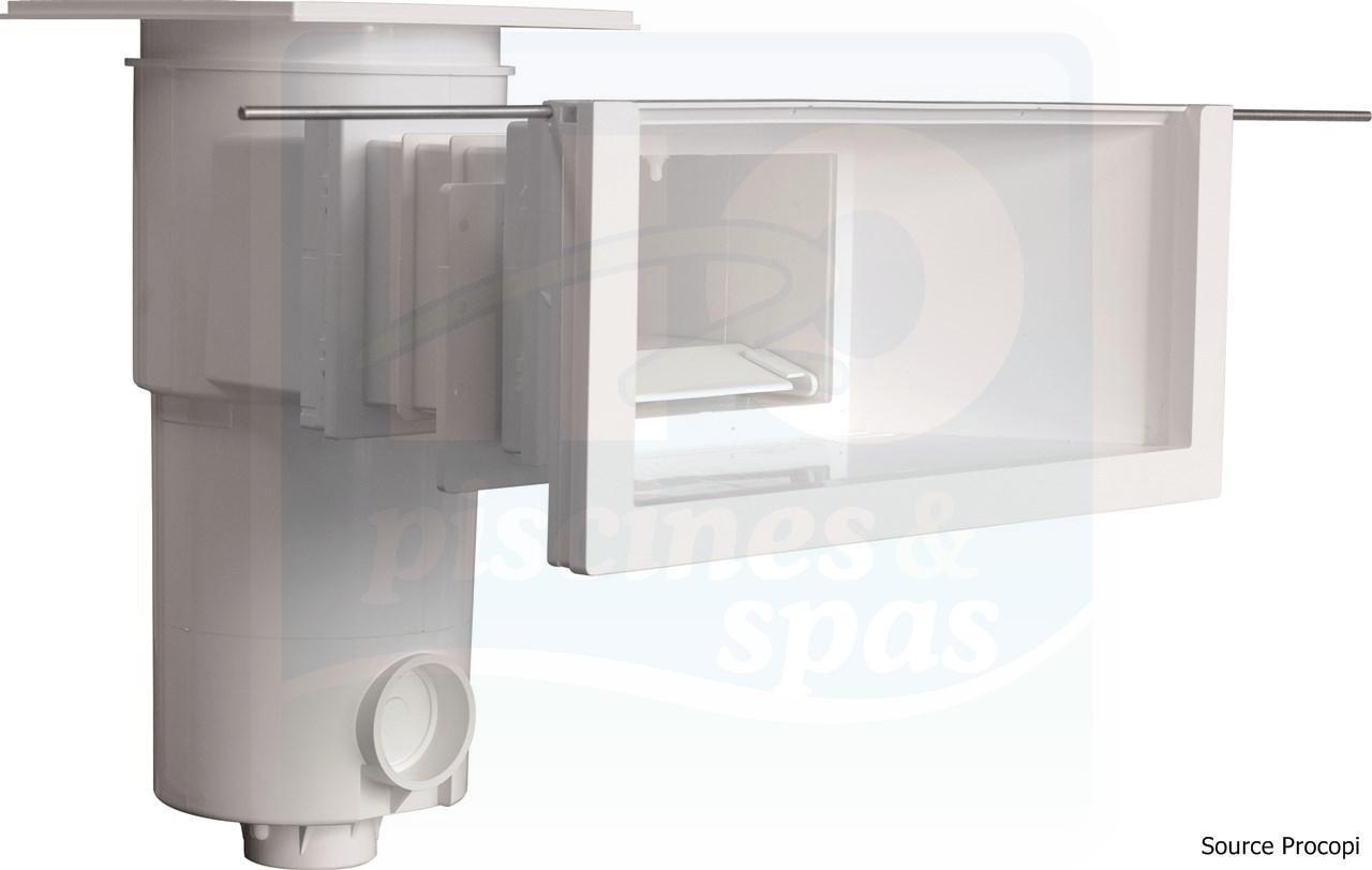 Skimmer Miroir Sl 119 M Mr Aquareva Grande Meurtriere Rallonge Pour Piscine Maconnerie Liner Blanc H2o Piscines Spas