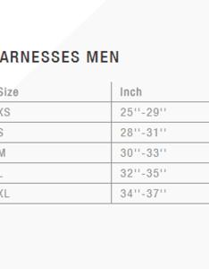 Ion mens size chart harnessg also north styler kitesurfing harness rh   sports