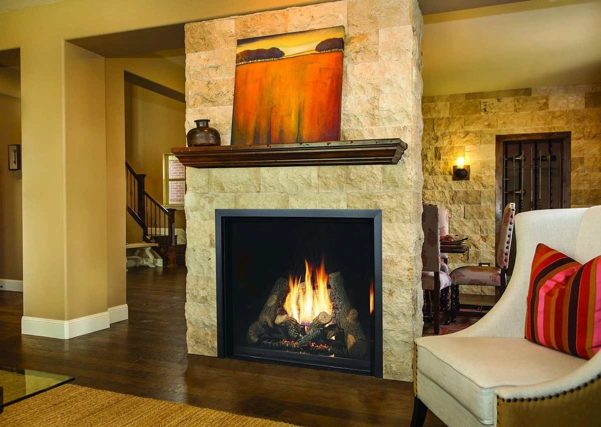 Fireplace Xtrordinair  4237 Clean Face Gas Fireplace  H2Oasis