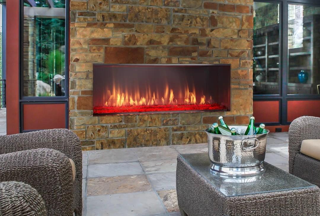 Heat  Glo  Lanai IndoorOutdoor Gas Fireplace  H2Oasis