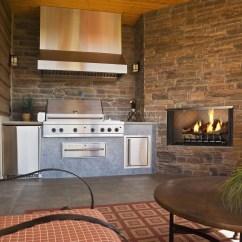 Houzz Outdoor Kitchens Kitchen Countertop Soap Dispenser Heatilator - Villa 36 & 42 Gas Fireplace H2oasis