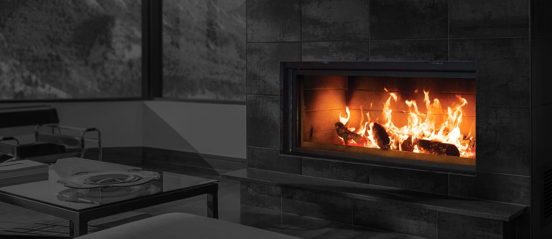 kitchens only kitchen gift ideas renaissance fireplaces - linear 50 wood burning fireplace ...