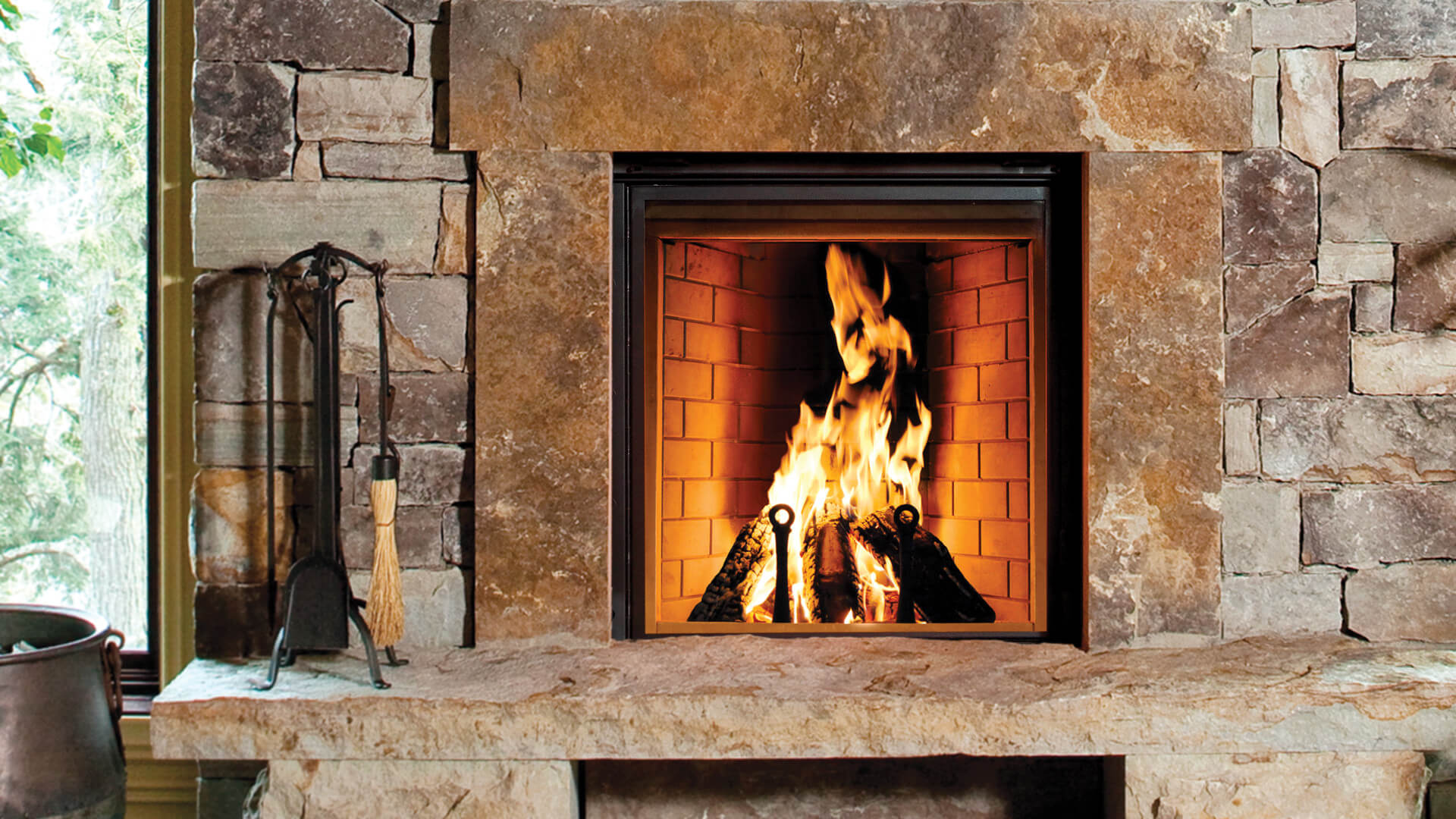 Renaissance Fireplaces  Rumford 1000 Wood Burning Fireplace  H2Oasis