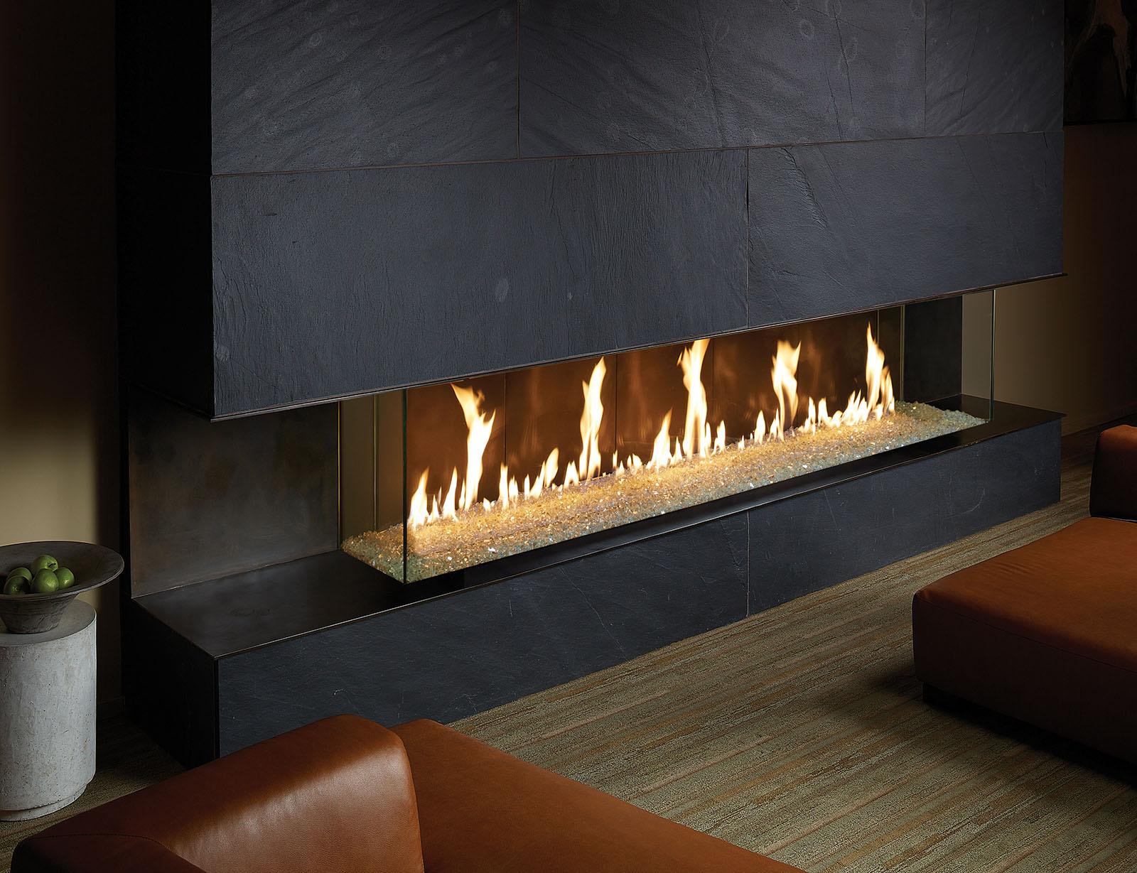 DaVinci Custom Fireplaces  H2Oasis