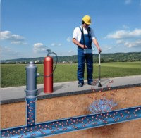 Underground water leaks contribute to high water bills