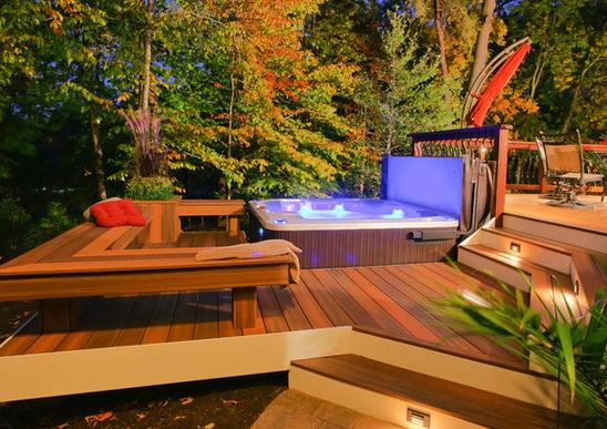 Hot Tub Enclosure Ideas For Your Garden H2O Spa Hot Tubs