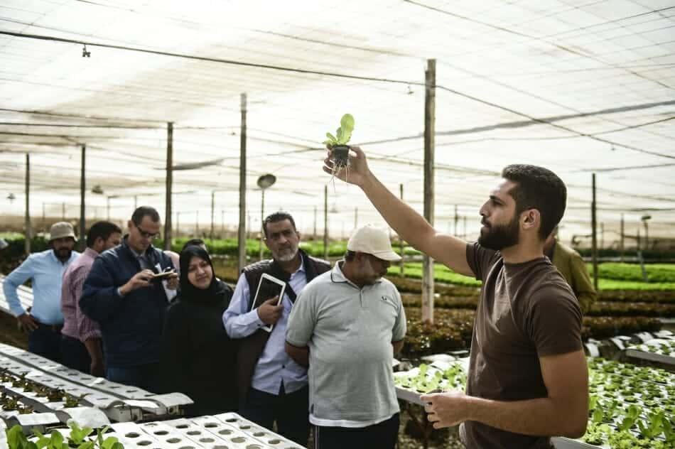 Photo: Every drop counts: agri-aquaculture
