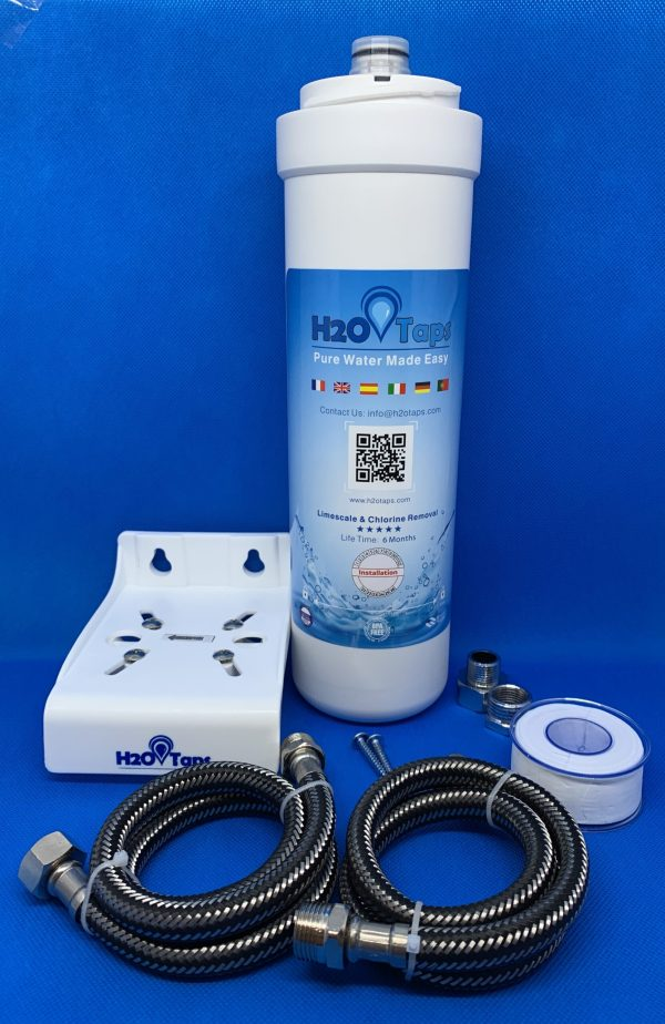 filtro agua debajo fregadero