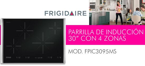 H2O TEK SA de CV PARRILLA DE INDUCCIN 30 CON 4