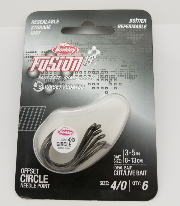 Berkley Fusion 19 Offset Circle Hook Size 4 0 6 - H2 Tackle And Outdoors