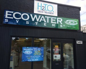 H2TO Water Treatment, 3407 Lakeshore Blvd W, Toronto