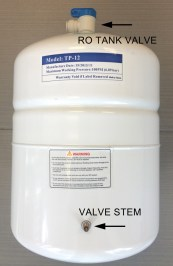 Pressurizing Your Reverse Osmosis Drinking Water Storage Tank