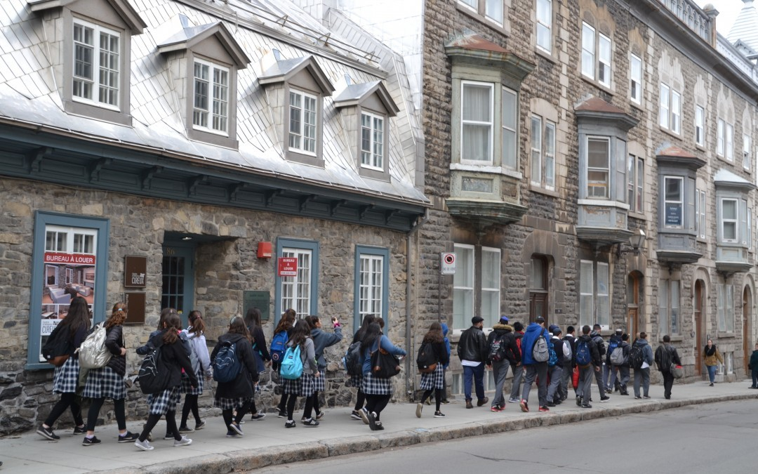 Students discover the beauty of québec city hebrew academy