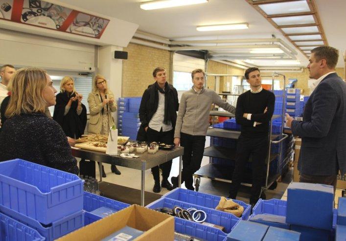 A/S Gunnar Haagensen besøg af Erhvervsstyrelsen