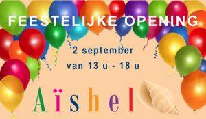 Aishel opent het seizoen – 2 september