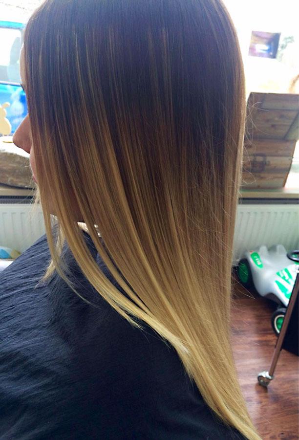 Schneiden Haar Ambiente Friseur Salon Kastl