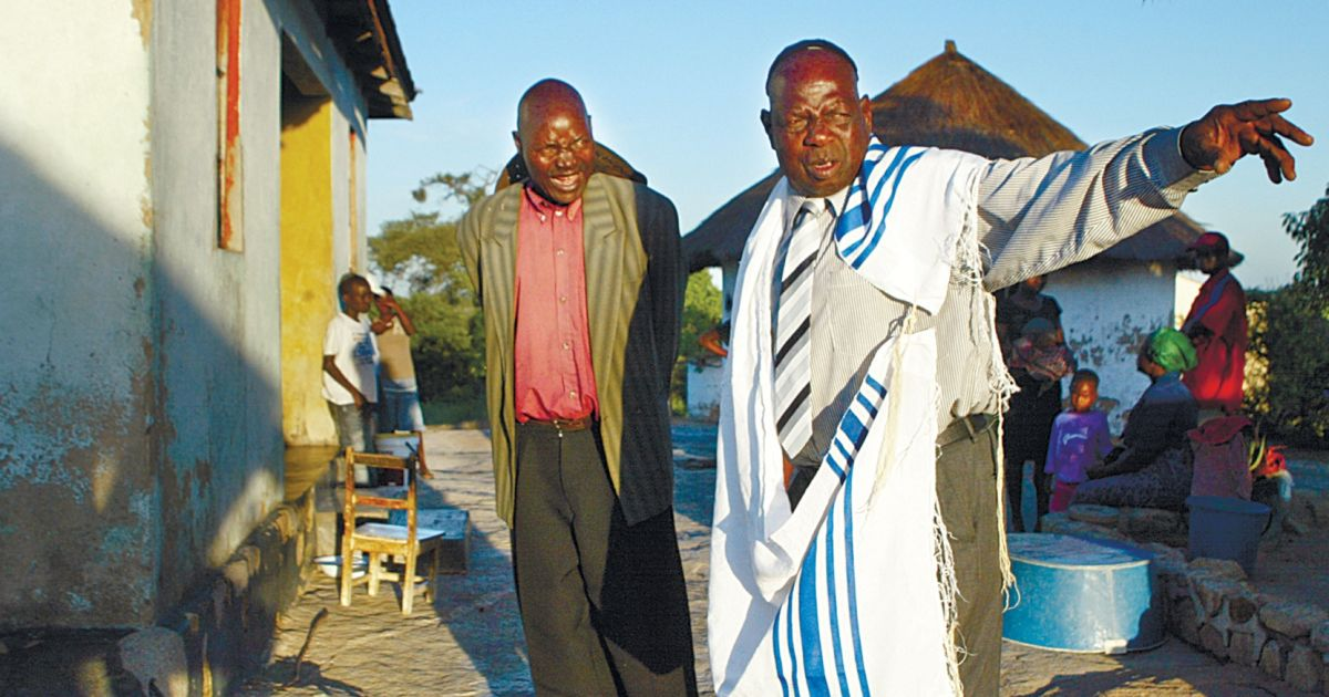 Unlike many lost tribes Zimbabwe clan has science on