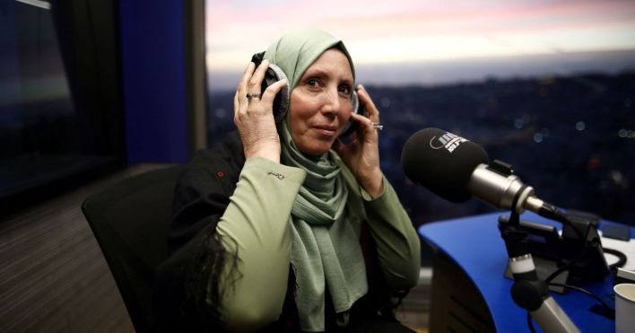 Look beyond the veil', says Israel's first hijab-wearing lawmaker ...