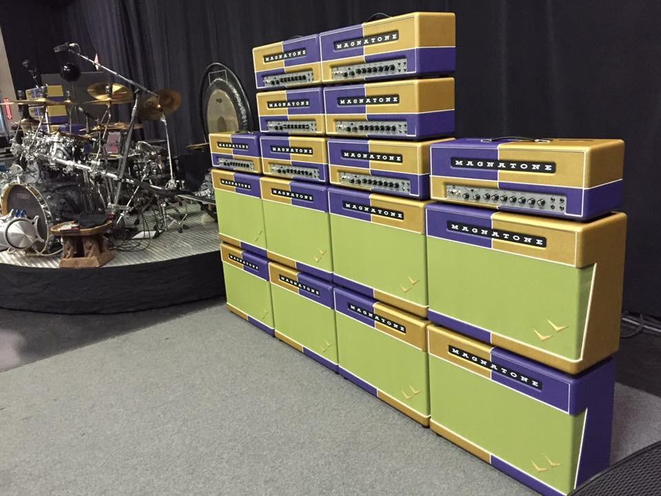 Haarguitars And Parts Zz Top European Tour Magnatone Amps