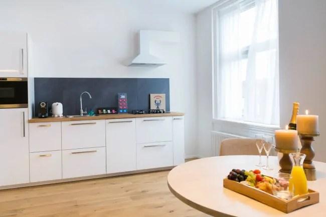 Haarlem Hotel Suites slapen in appartement met hotelsfeer