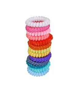 Zopfhalter aus Kunststoff unifarben Sortiment