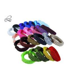Zopfgummi breit in allen Farben der Kollektion