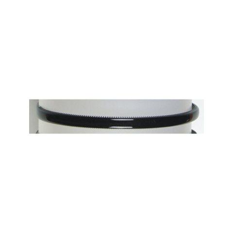 Haarreifen schmal - schwarz aus Kunststoff