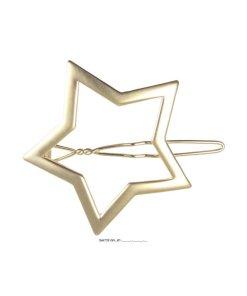 Seitenspange Stern gold