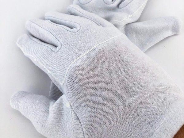 Baumwollhandschuhe, Pflanzenpflege